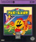 Pac-Land TurboGrafx-16 Front Cover