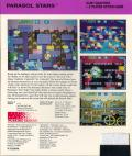 Parasol Stars: The Story of Bubble Bobble III TurboGrafx-16 Back Cover