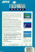 California Games Amiga Back Cover