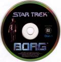 Star Trek: Borg Macintosh Media Disc 1/3