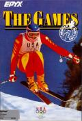 The Games: Winter Edition Amiga Front Cover