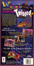 Twisted: The Game Show 3DO Back Cover