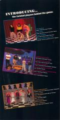 Twisted: The Game Show 3DO Inside Cover