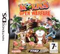 Worms: Open Warfare Nintendo DS Front Cover