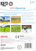 Wii Sports Wii Back Cover