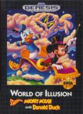 World of Illusion starring Mickey Mouse and Donald Duck Genesis Front Cover