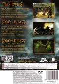 The Lord of the Rings Collectie PlayStation 2 Back Cover