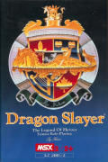 Dragon Slayer: The Legend of Heroes MSX Front Cover