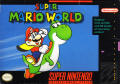 Super Mario World SNES Front Cover