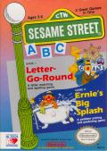Sesame Street A B C NES Front Cover