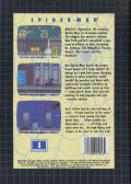 Spider-Man Genesis Back Cover