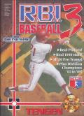 R.B.I. Baseball 3 Genesis Front Cover