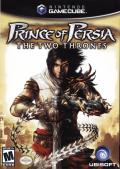 Prince of Persia: The Two Thrones GameCube Front Cover