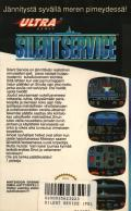 Silent Service NES Back Cover