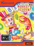 Monkey Academy MSX Front Cover