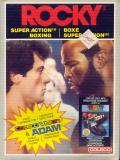 Rocky Super Action Boxing ColecoVision Front Cover