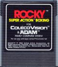 Rocky Super Action Boxing ColecoVision Media