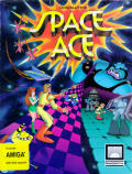 Space Ace Amiga Front Cover