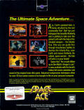 Space Ace Amiga Back Cover