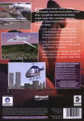 Microsoft Flight Simulator 98 Windows Back Cover