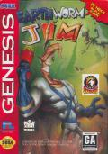 Earthworm Jim Genesis Front Cover
