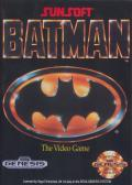 Batman: The Video Game Genesis Front Cover