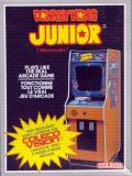 Donkey Kong Junior ColecoVision Front Cover