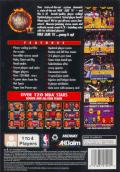 NBA Jam Tournament Edition PlayStation Back Cover