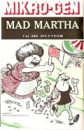 Mad Martha ZX Spectrum Front Cover