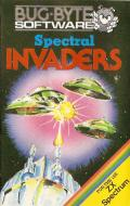 Spectral Invaders ZX Spectrum Front Cover