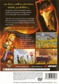 Haven: Call of the King PlayStation 2 Back Cover