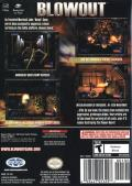 Blowout GameCube Back Cover
