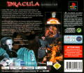 Dracula: The Resurrection PlayStation Back Cover