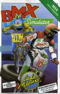 BMX Simulator MSX Front Cover