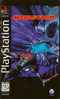 Novastorm PlayStation Front Cover