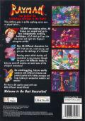 Rayman PlayStation Back Cover