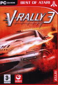 V-Rally 3 Windows Front Cover
