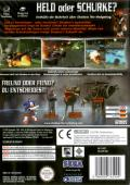 Shadow the Hedgehog GameCube Back Cover