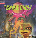 Zombie Dinos from Planet Zeltoid CD-i Front Cover
