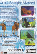 Disney's Brother Bear Windows Back Cover