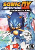 Sonic Adventure DX: Director's Cut Windows Front Cover