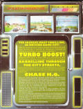 Chase H.Q. ZX Spectrum Back Cover