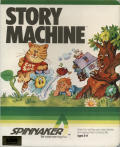 Story Machine Atari 8-bit Front Cover