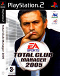 Total Club Manager 2005 PlayStation 2 Front Cover