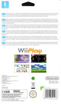 Wii Play Wii Back Cover