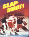 SLAP-SHOT! Hockey Commodore 64 Front Cover