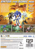 Sonic the Hedgehog Xbox 360 Other Keep Case - Back