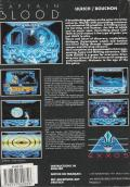 Captain Blood Atari ST Back Cover