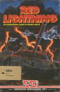 Red Lightning Amiga Front Cover