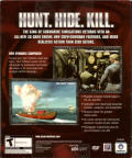Silent Hunter III Windows Back Cover